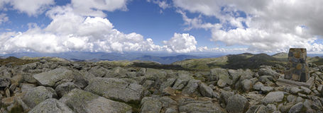 Top of Mount Kosciuszko (2228 m). Australia. Royalty Free Stock Photos