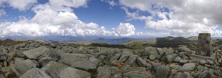 Top of Mount Kosciuszko (2228 m). Australia. Monument on the top of Mount Kosciuszko (2228 m). Australia Royalty Free Stock Photos