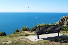 Top of Mount Maunganui Stock Image