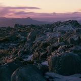 On top of Mount Wellington in Hobart, Tasmania during the day. Stock Photos