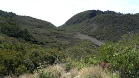 Top of mountain Baru. Panama. Video stock video