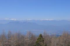 Top of mountain Kenashi Royalty Free Stock Photography