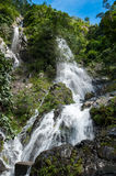 Top of mountain in Krok E-Dok waterfall at Khao Yai National Par Royalty Free Stock Photos
