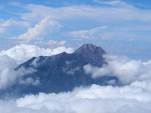 Top Mountain Merapi Royalty Free Stock Image