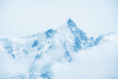 Top of mountains Stock Image