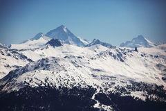 Top of mountains Royalty Free Stock Photo