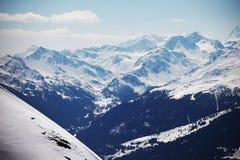 Top of mountains Stock Photos