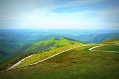 The top of mountains Royalty Free Stock Photography