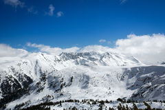 Top of mountains Stock Photography