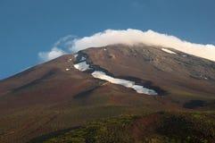 Top of Mt.Fuji Royalty Free Stock Images