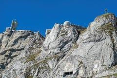 Top of the Mt. Pilatus Stock Photos