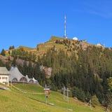 Top of the Mt. Rigi. Switzerland Royalty Free Stock Photography