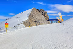 Top of Mt. Titlis in Switzerland Royalty Free Stock Photos