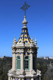 Top of Museum of Man in Balboa Park Stock Photos