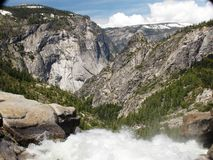 Top of Nevada Falls Stock Image
