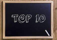 TOP 10 Stock Image