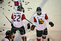 2 of top 3 NHL Draft prospects Stock Image