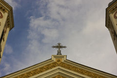 Free Top Of A Church Royalty Free Stock Photo - 46694615