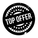 Top Offer rubber stamp. Grunge design with dust scratches. Effects can be easily removed for a clean, crisp look. Color is easily changed Stock Photos