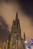 Top of old Church in Edinburgh Stock Photos