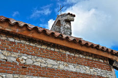 The top of old stone Orthodox Church Royalty Free Stock Image