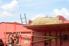 Top of old Threshing Machine Stock Photography