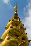 Top pagoda is beautifully designed in Thailand Stock Photos