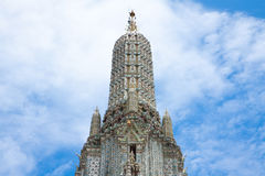 Top pagoda detail Stock Photography