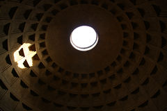 Top of Pantheon in Rome Royalty Free Stock Images