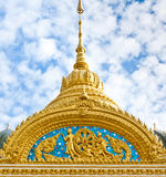 Top part of Thai style architecture Stock Photos