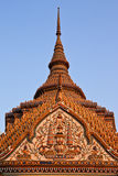 Top part of traditional Thai style architecture Royalty Free Stock Images