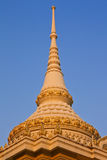 Top part of traditional Thai style architecture Stock Photos