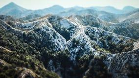 Top of a Peak within the Biokovo Mountains on the Way to the Sveti Jure in Makarska, Croatia royalty free stock image