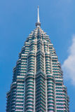 Top of the Petronas Tower Royalty Free Stock Photography