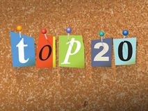 Top 20 Pinned Paper Concept Illustration Royalty Free Stock Images