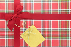 Top of present box Stock Images