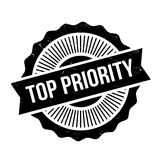 Top Priority rubber stamp. Grunge design with dust scratches. Effects can be easily removed for a clean, crisp look. Color is easily changed Royalty Free Stock Photo