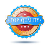 Top product label Royalty Free Stock Photo