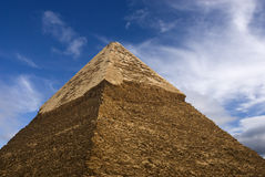 Top of pyramid Stock Image