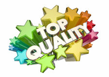 Top Quality Best Most Reliable Products Stars Stock Photo