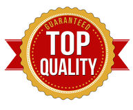 Top quality guaranteed badge Royalty Free Stock Image