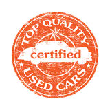Top quality used cars Royalty Free Stock Photography