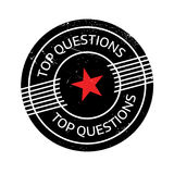 Top Questions rubber stamp Stock Photos