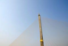 Top of Rama 8 Bridge in Bangkok,Thailand Stock Photos
