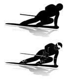 Top rank skier Stock Photo