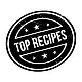 Top Recipes rubber stamp Stock Images