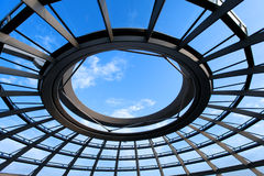 Top of Reichstag dome Stock Photo