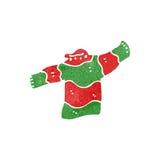 top retro de la Navidad de la historieta Fotografía de archivo libre de regalías