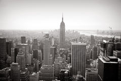Top of the rock, New York Royalty Free Stock Image