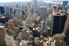 Top of the rock, New York Stock Photo